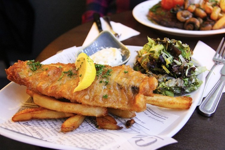 donde comer pescado en Rosario