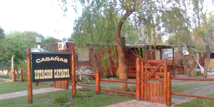Estación Cayasta, un lugar soñado para descansar el fin de semana