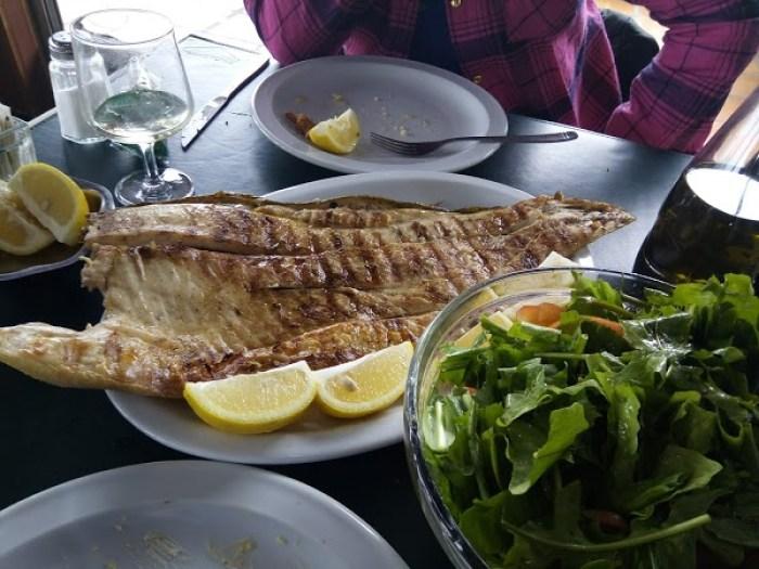 Comer pescado en zona norte