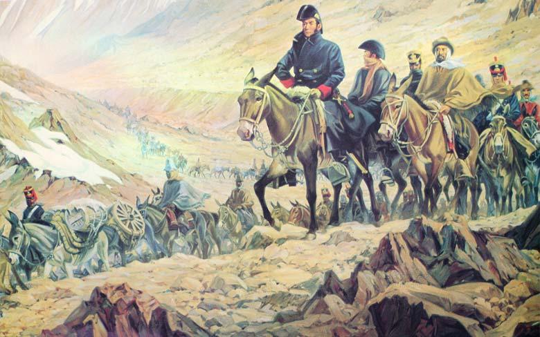 Batallas en las que participó San Martín
