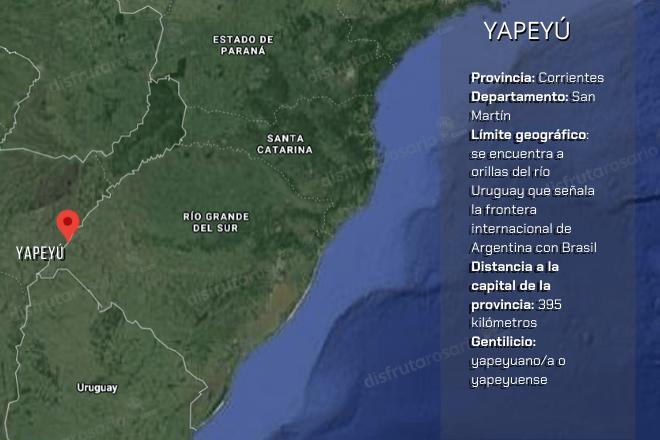 Dónde queda Yapeyú,
