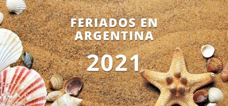 Feriados en Argentina 2021