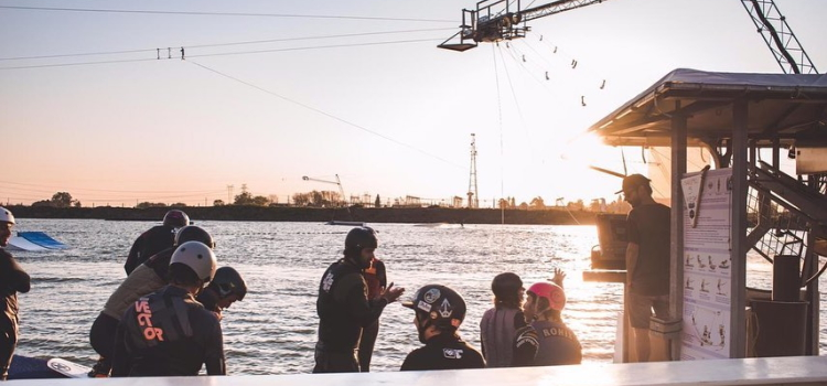 Infinite Ride cable ski wake park Rosario