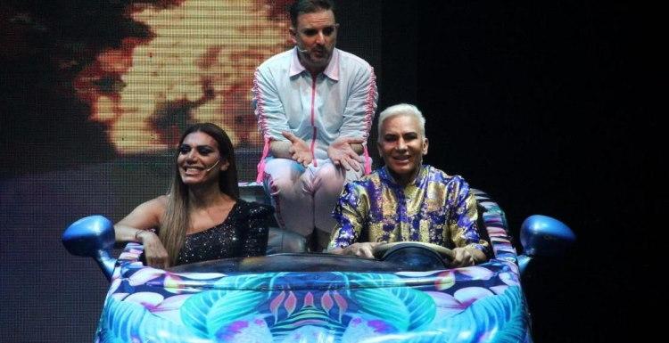 Flavio Mendoza en Rosario funciones Tres Empanadas