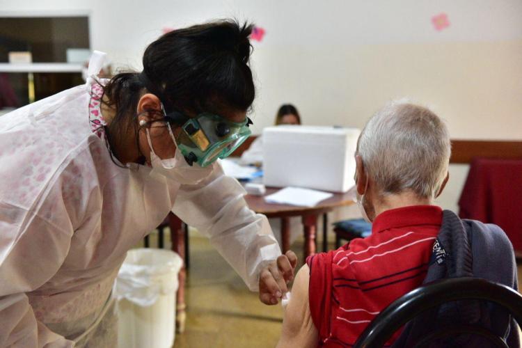 Pami vacuna antigripal en Rosario