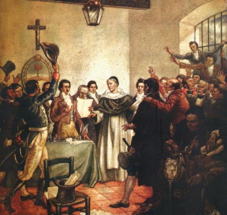 Qué pasó el 9 de julio de 1816 y quiénes participaron