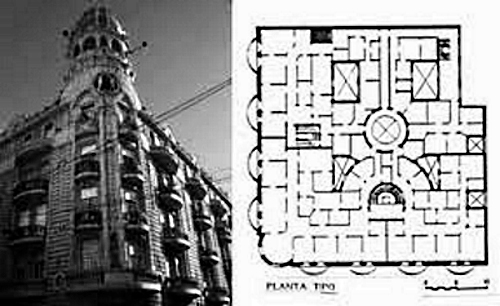 Palacio Cabanellas plano