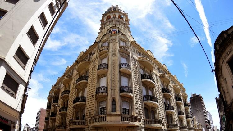 Palacio Cabanellas en Rosario
