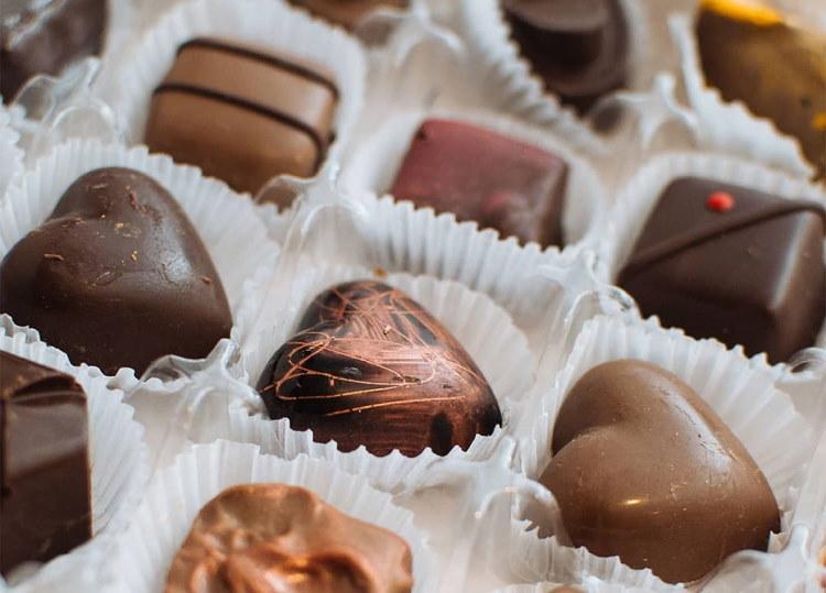 Bianco & Nero chocolates