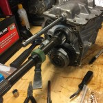 T5 tailshaft removed