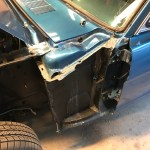 seam sealer drivers side