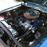 award-winning engine compartment