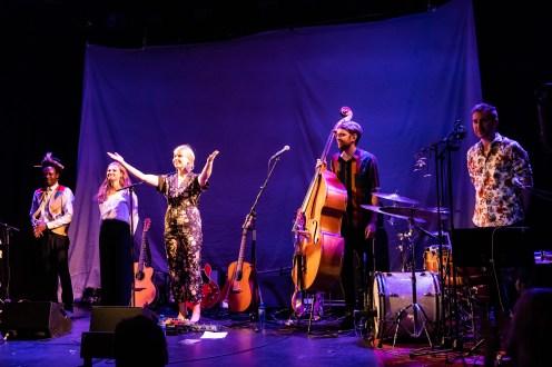 LILJA på Nasjonal jazzscene Victoria. Foto: Johannes Andersen