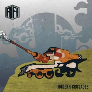 Coveret av Rift sin EP Modern Crusades