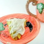 Pumpkin Scones with Pumpkin Spice Icing