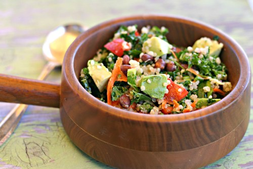 Quinoa Salad Recipe Dishin Dishes