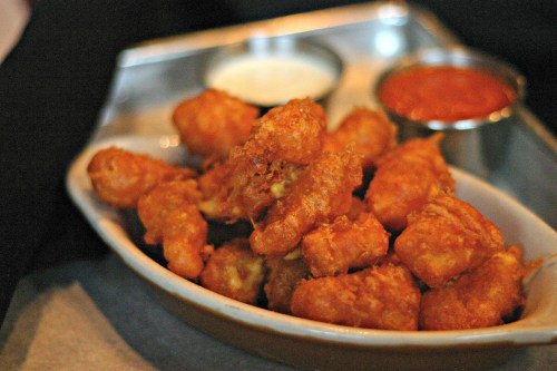 The Mule Fried Cheese Curds