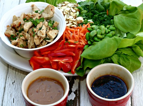 Lettuce Wraps 1