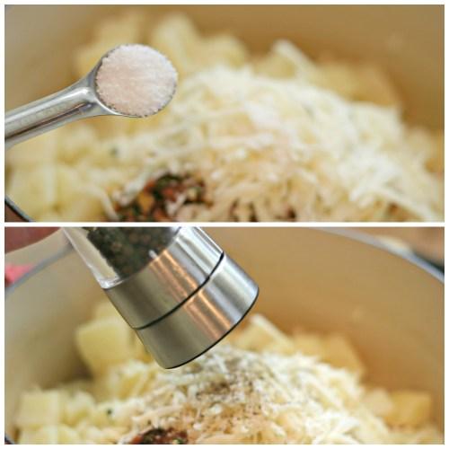 Salt and Pepper Mashed Potatoes