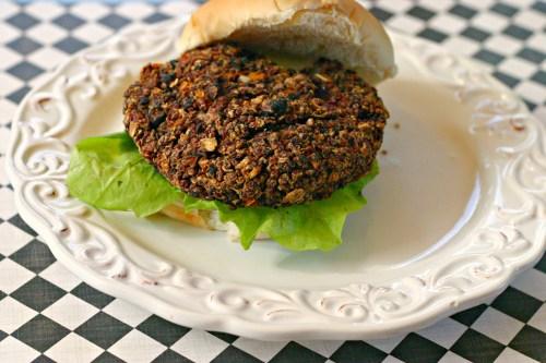 black bean quinoa burger recipe