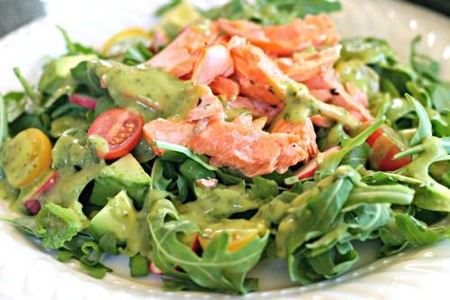 Sockeye Salmon Salad 2