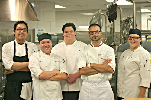 District 21 Culinary students
