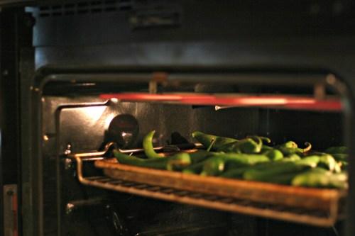 Roast hatch chiles