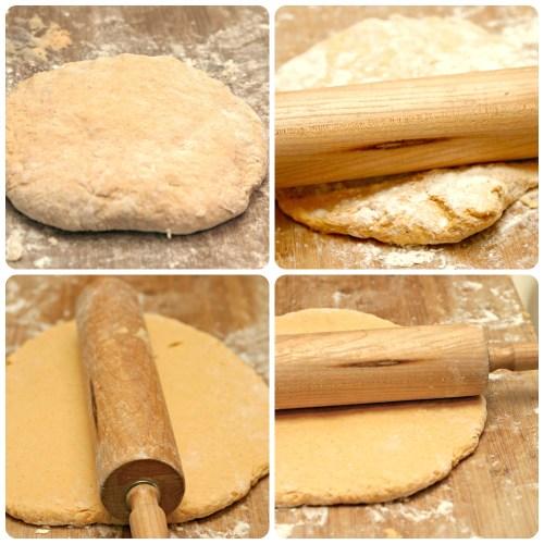 Pumpkin Biscuit Dough