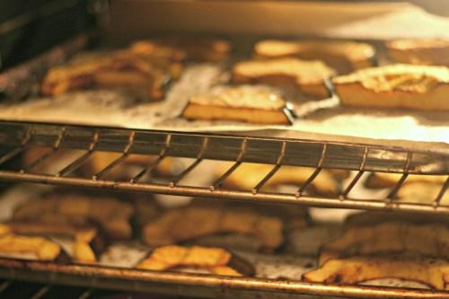 acorn squash in oven
