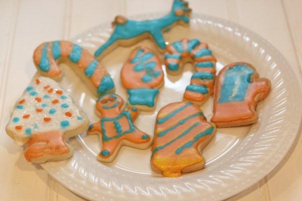 Oklahoma City thunder Christmas Cookies