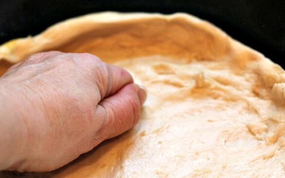 Skillet pizza dough