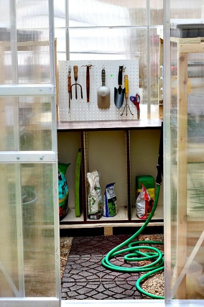 pegboard greenhouse