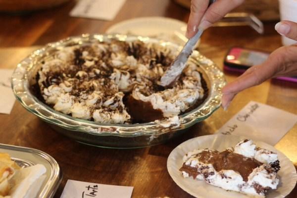 Ancho chocolate cream