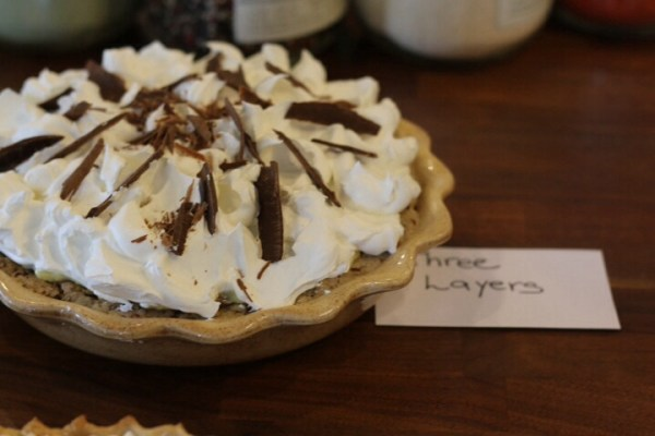 Three layer pie