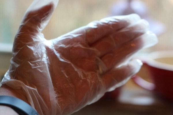 Gloves jalapeños