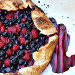 Mixed Berry Rustic Tart (Galette or Crostata)