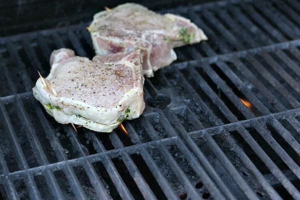 grill Porterhouse chops
