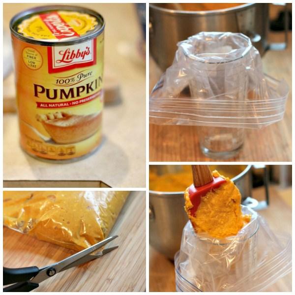 pumpkin cheesecake mixture