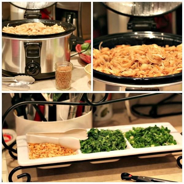 Pad Thai Recipe collage