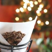 Cinnamon Vanilla Almonds