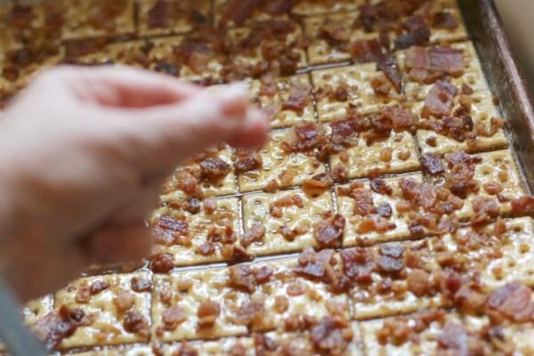 salt bacon crack
