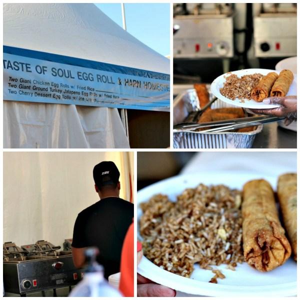 Taste of Soul Egg Roll at Oklahoma CIty Festival of the Arts