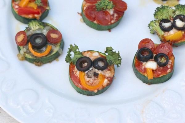 Zucchini Pizza Veggie Bites