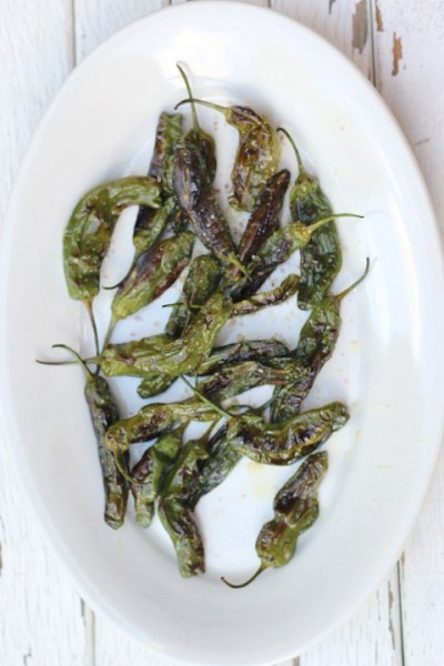 shishito peppers grilled 3