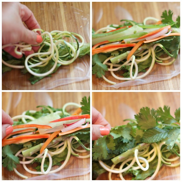 how to roll fresh spring rolls