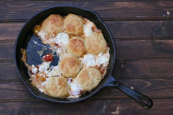 tomato cobbler recipe