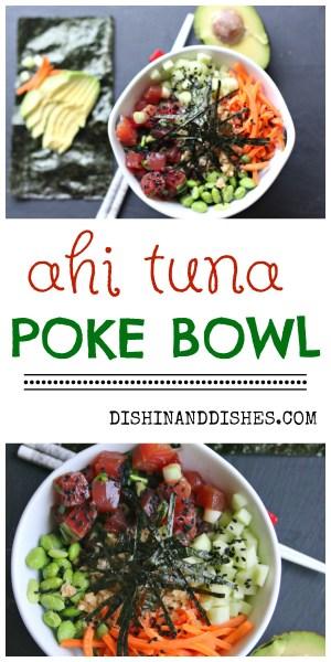 how to make a poke bowl