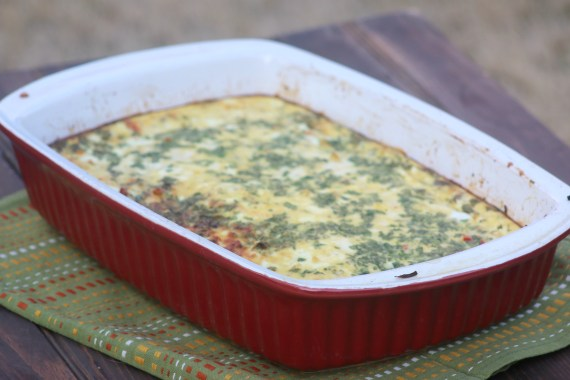 Hatch Chile Egg Casserole