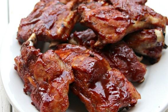 Instant Pot BBQ Pork Spare Ribs