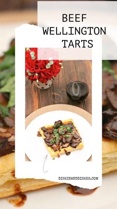 Beef Wellington Tarts - Dishin And Dishes